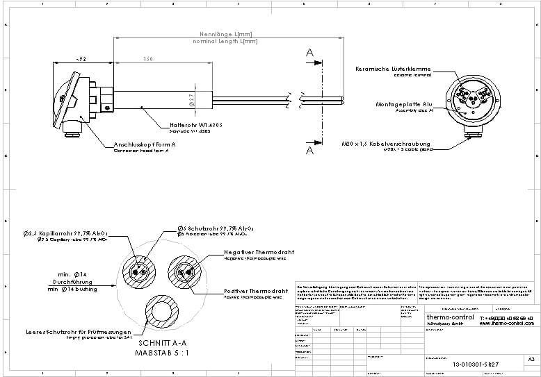 Zeichnung 13-0103-SR27
