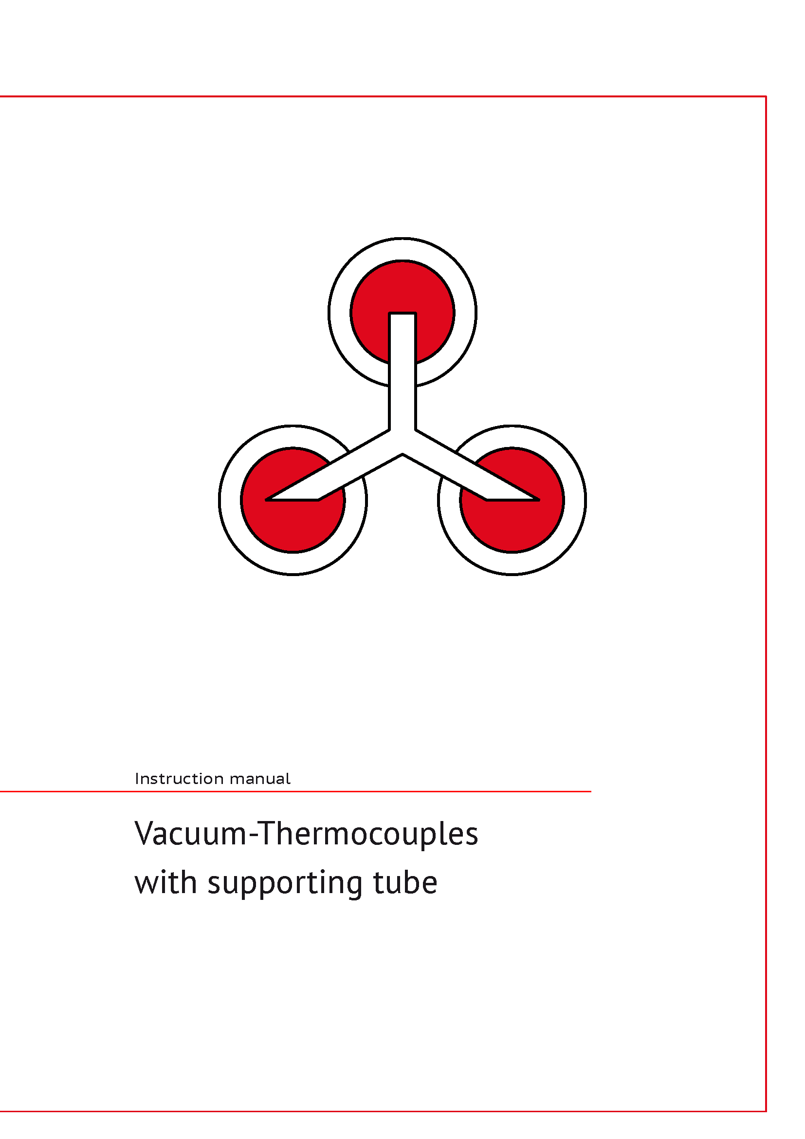 Icon of Manual for vacuum thermocouples with supporting tubes